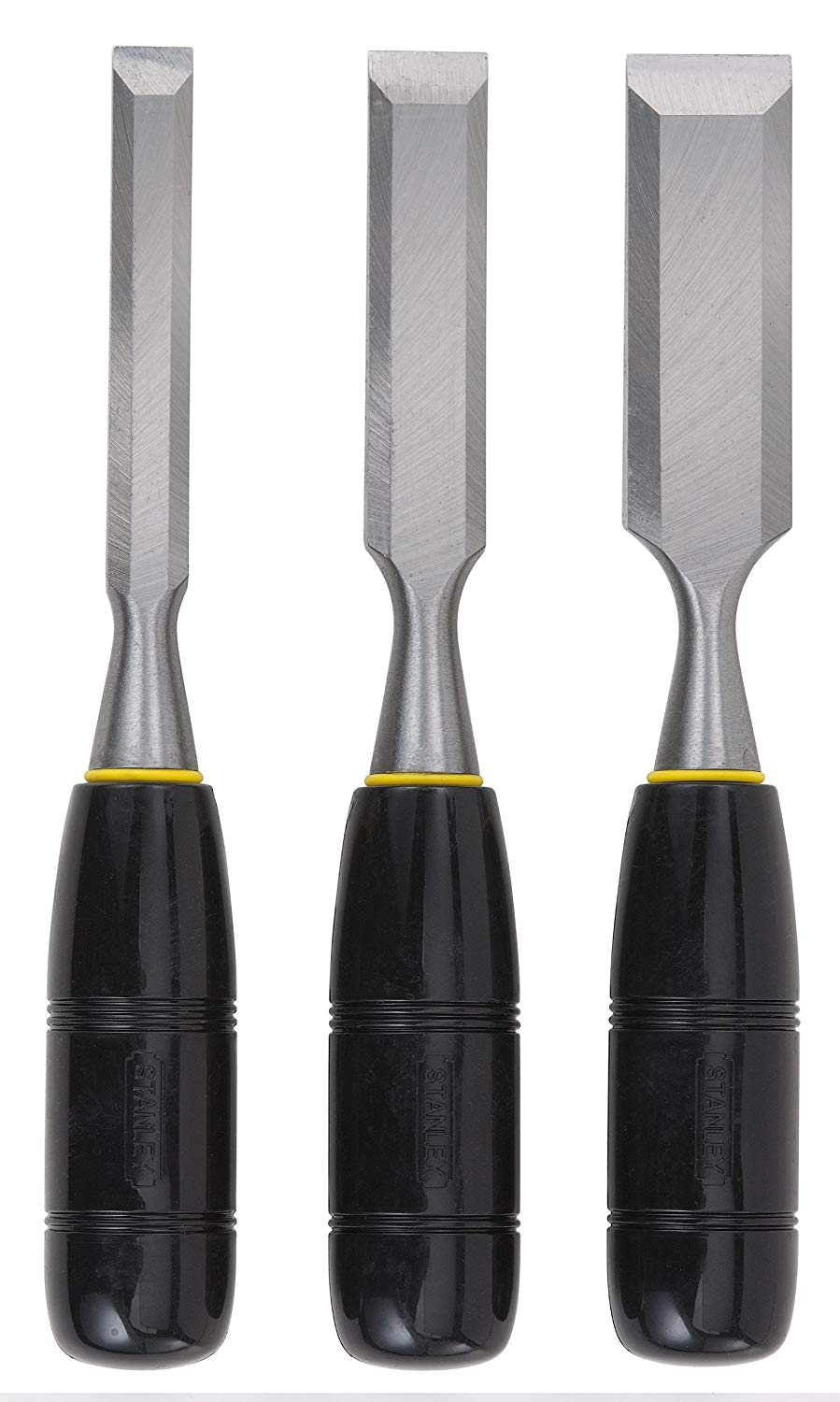 Stanley 16-150 3-Piece Wood Chisels