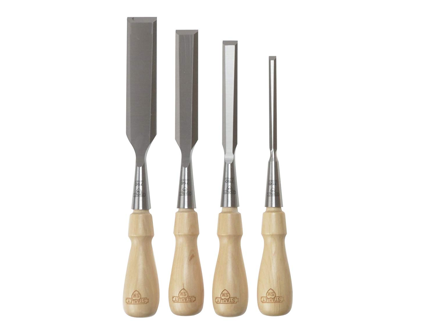Stanley 16-791 4-Piece Wood Chisels