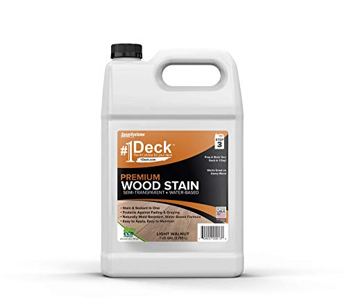 #1 Deck Premium Semi-Transparent Wood Stain for Decks