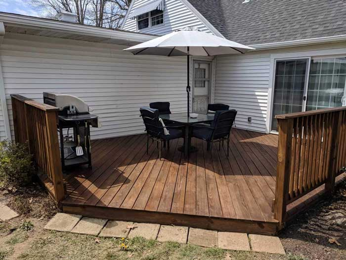 Apply an Exterior Stain
