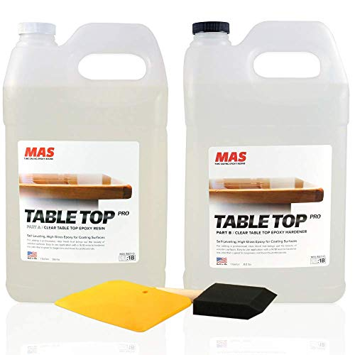 Crystal Clear Epoxy Resin Two Gallon Kit