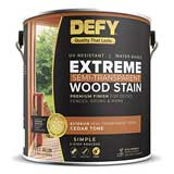 DEFY Extreme 1 Gallon Semi-Transparent Exterior Wood Stain