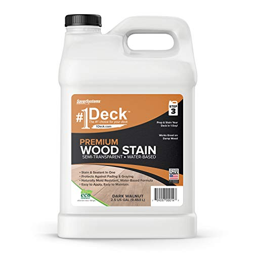 Deck Premium Semi-Transparent Wood Stain for Decks