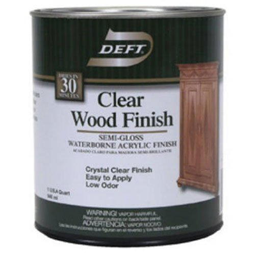 Deft Interior DFT108/04 Waterborne Clear Wood Finish
