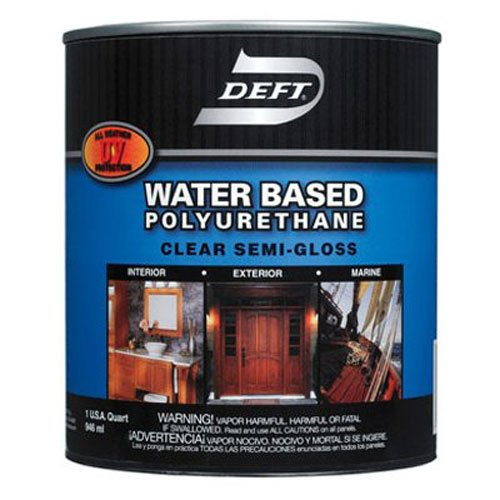 Deft Interior Exterior Water-Based Polyurethane Semi-Gloss Finish