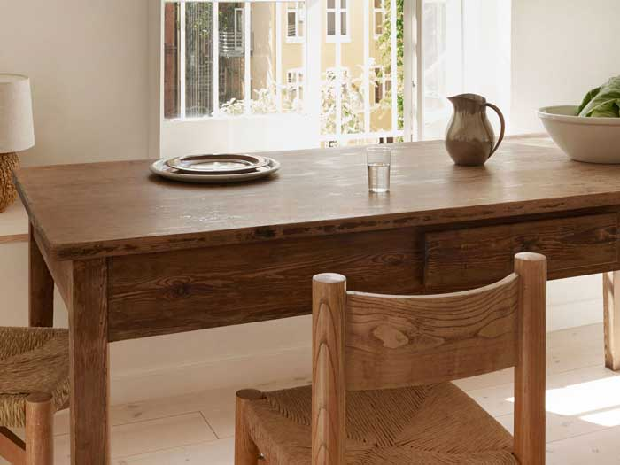 finishes for wood kitchen table