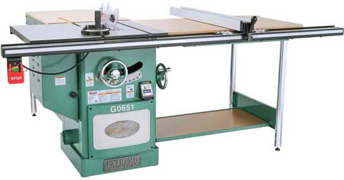 Grizzly G0651 Table Saw