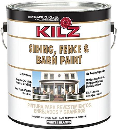 KILZ Exterior Siding, Fence, and Barn Paint