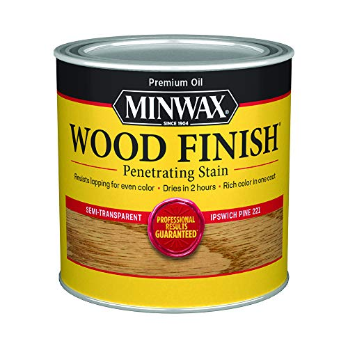 Minwax 222104444 Wood Finish Penetrating Interior Wood Stain