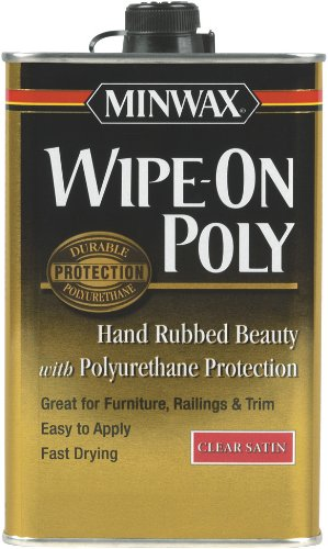 Minwax 60910000 Wipe-on Poly Finish Clear