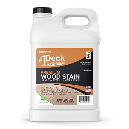 SaverSystem #1 Premium Semi-Transparent Wood Stain
