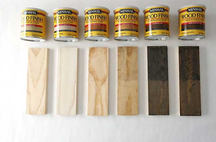 Stain for Pine