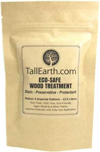 Tall Earth Wood ECO-Safe Treatment