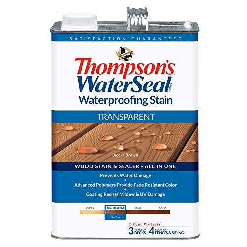 Thompsons Waterseal TH.041841-16 Transparent Waterproofing Stain