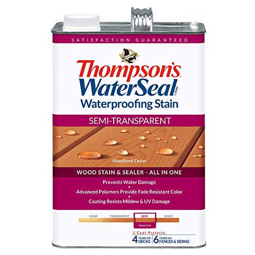 Thompsons Waterseal TH.042854-16 Semi-Transparent Waterproofing Stain