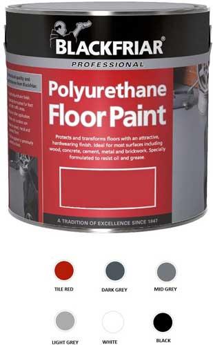 Blackfriar Polyurethane Floor Paint