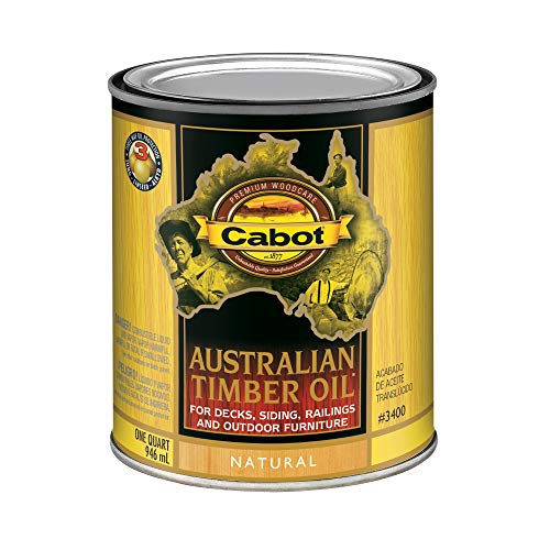 Cabot 140.0003400.005 Australian Timber Oil