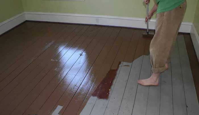 Floor Paint for Wood