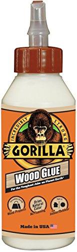 Gorilla Wood Glue, 8 Ounce Bottle