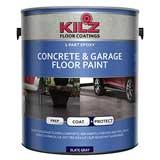 KILZ L377711 1-Part Epoxy Acrylic Interior/Exterior Concrete and Garage Floor Paint
