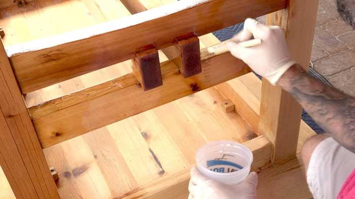 Outdoor Wood Sealer