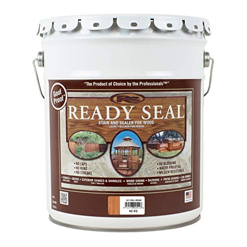 Ready Seal 512 Pail Natural Cedar Exterior Stain and Sealer for Wood
