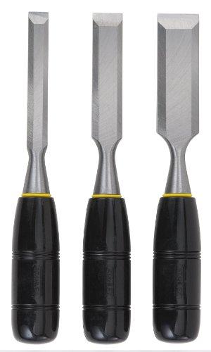 STANLEY Chisel Set, 150 Series, Short Blade, Wood