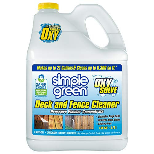 Simple Green Oxy Solve Deck and Fence Pressure Washer Cleaner