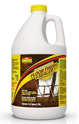 Ultra HIGH Gloss 33% Solids Floor Finish Wax