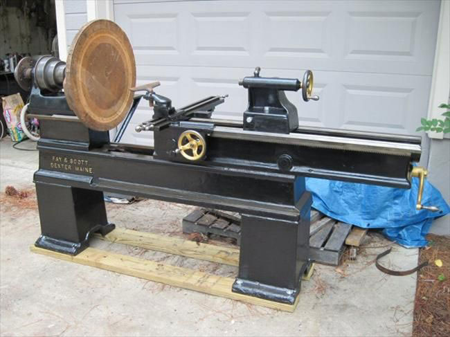 Bed of the Wood Lathe