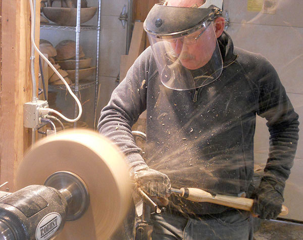 Safety Equipment to Use for a Wood Lathe