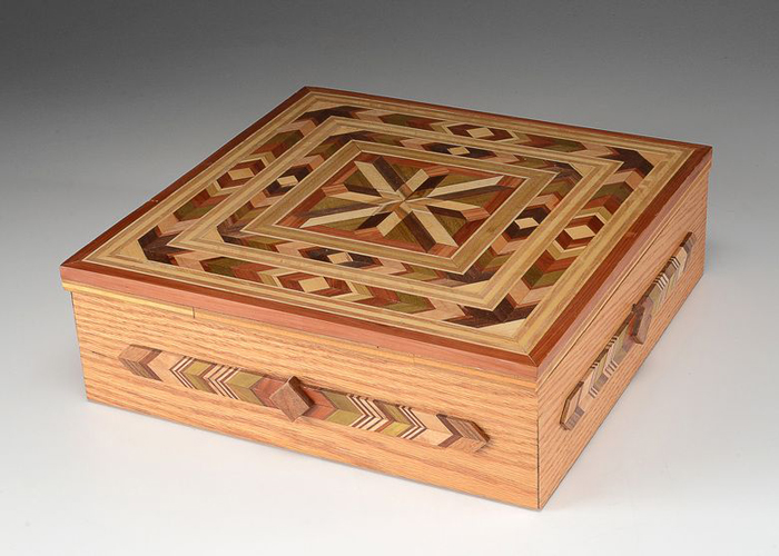 Square Box with a Lid