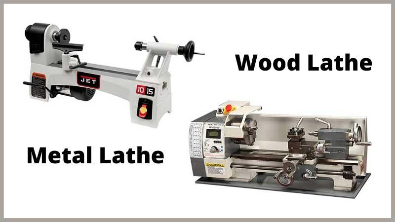 Wood Lathe vs. Metal Lathe